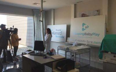Sleeping Baby en el Hospital Viamed Montecanal